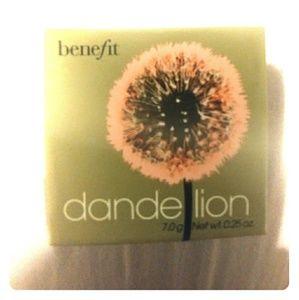 Benefit cosmetics box of powders dandelion